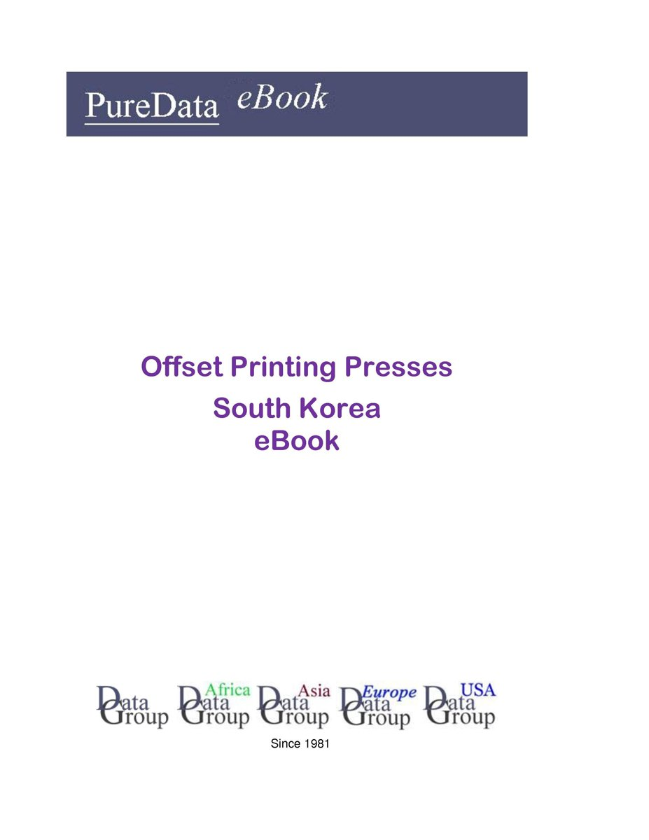 Offset Printing Presses in South Korea