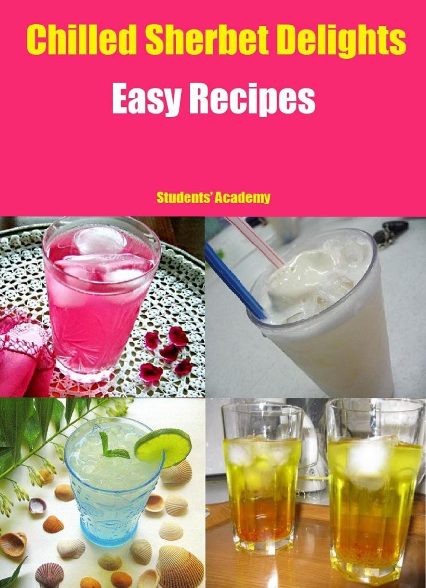 Chilled Sherbet Delights-Easy Recipes