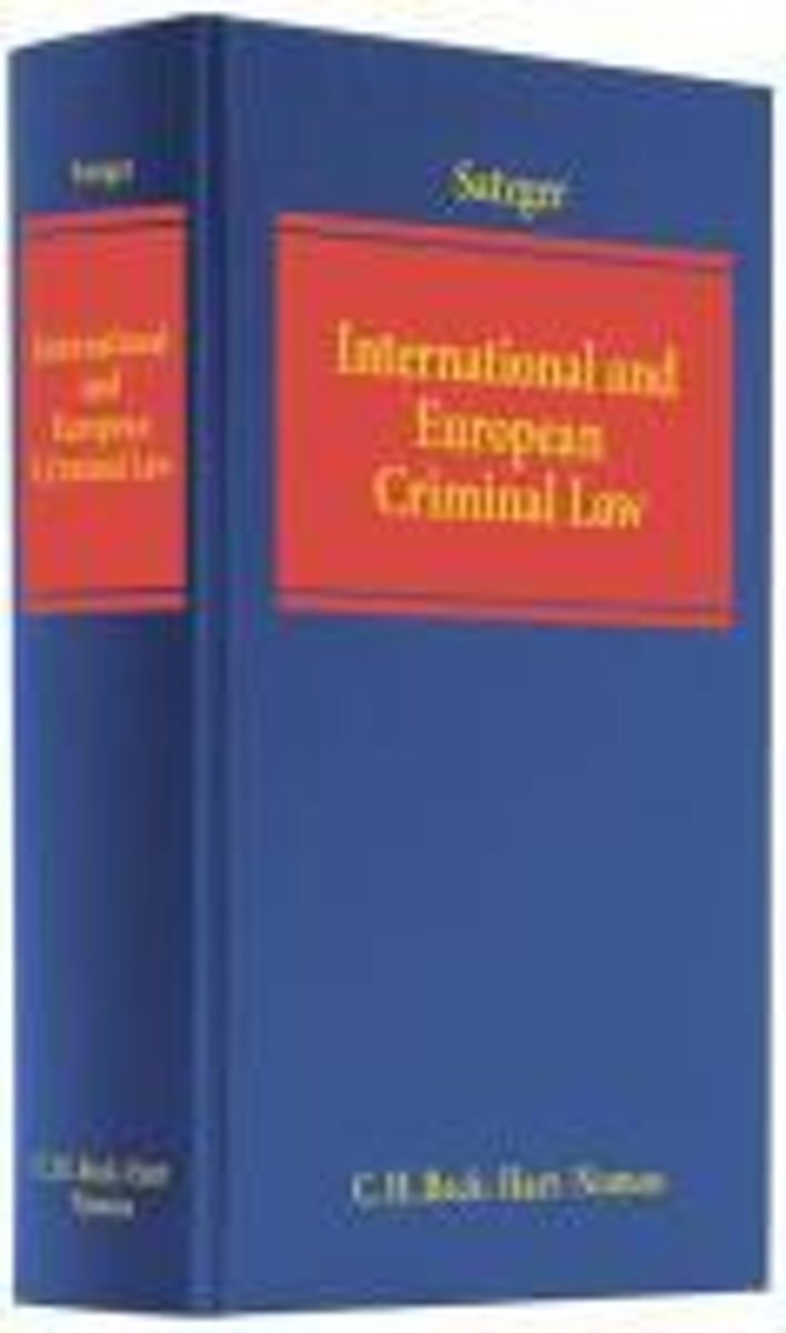 International and European Criminal Law