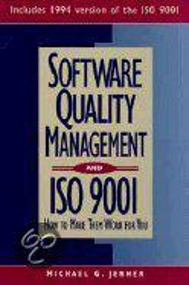 Software Quality Management and Iso 9001