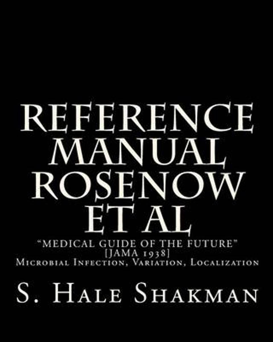 Reference Manual Rosenow et al