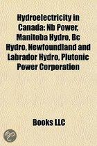 Hydroelectricity in Canada: Nb Power, Ma