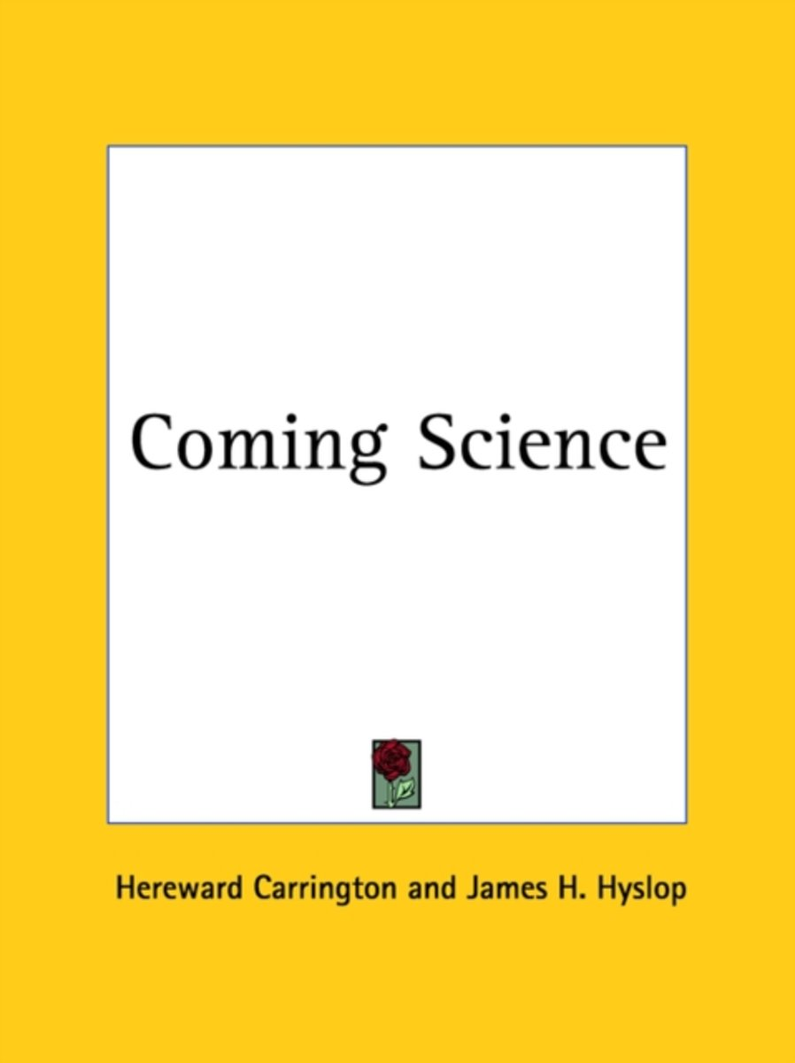 Coming Science (1920)