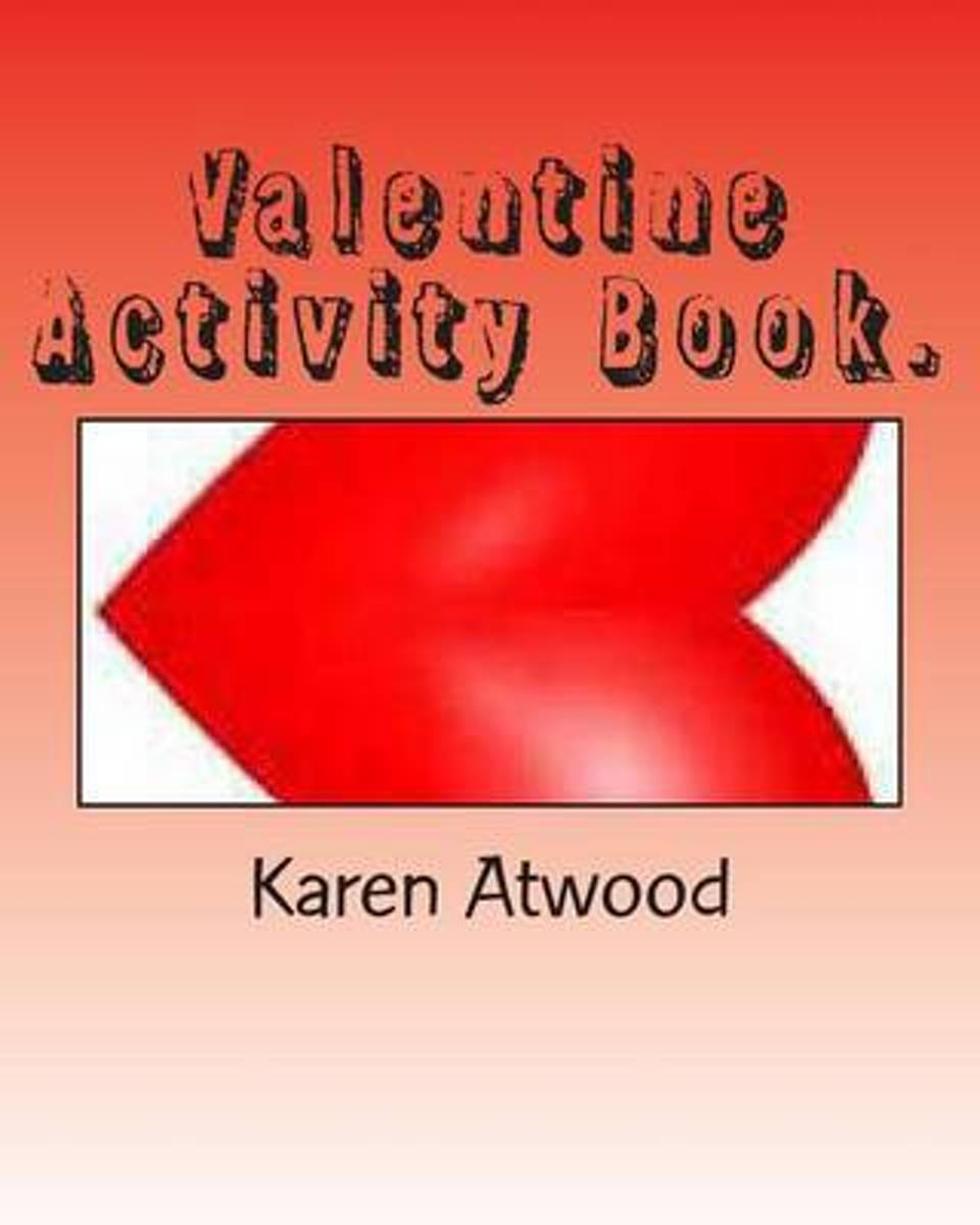 Valentine Activity Book.