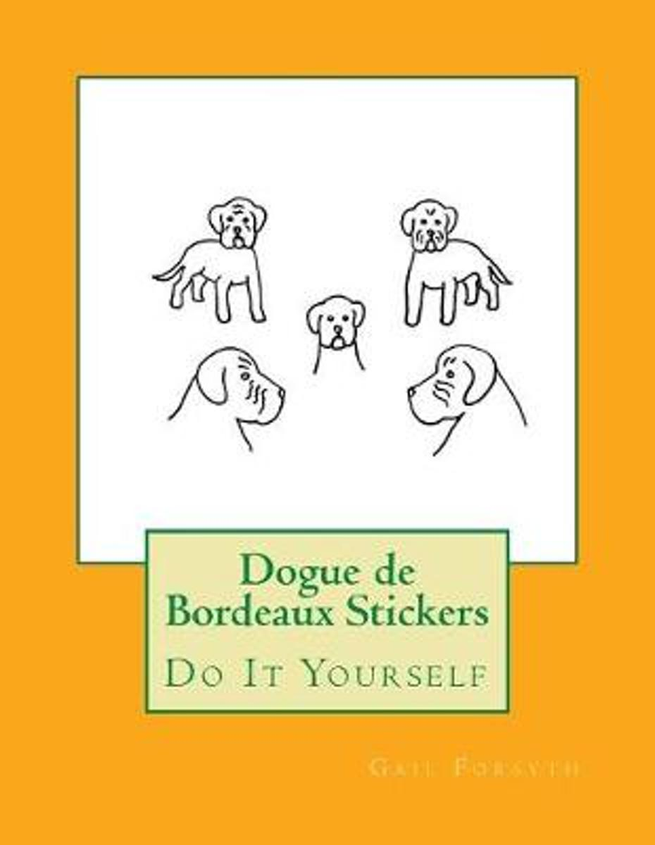 Dogue de Bordeaux Stickers