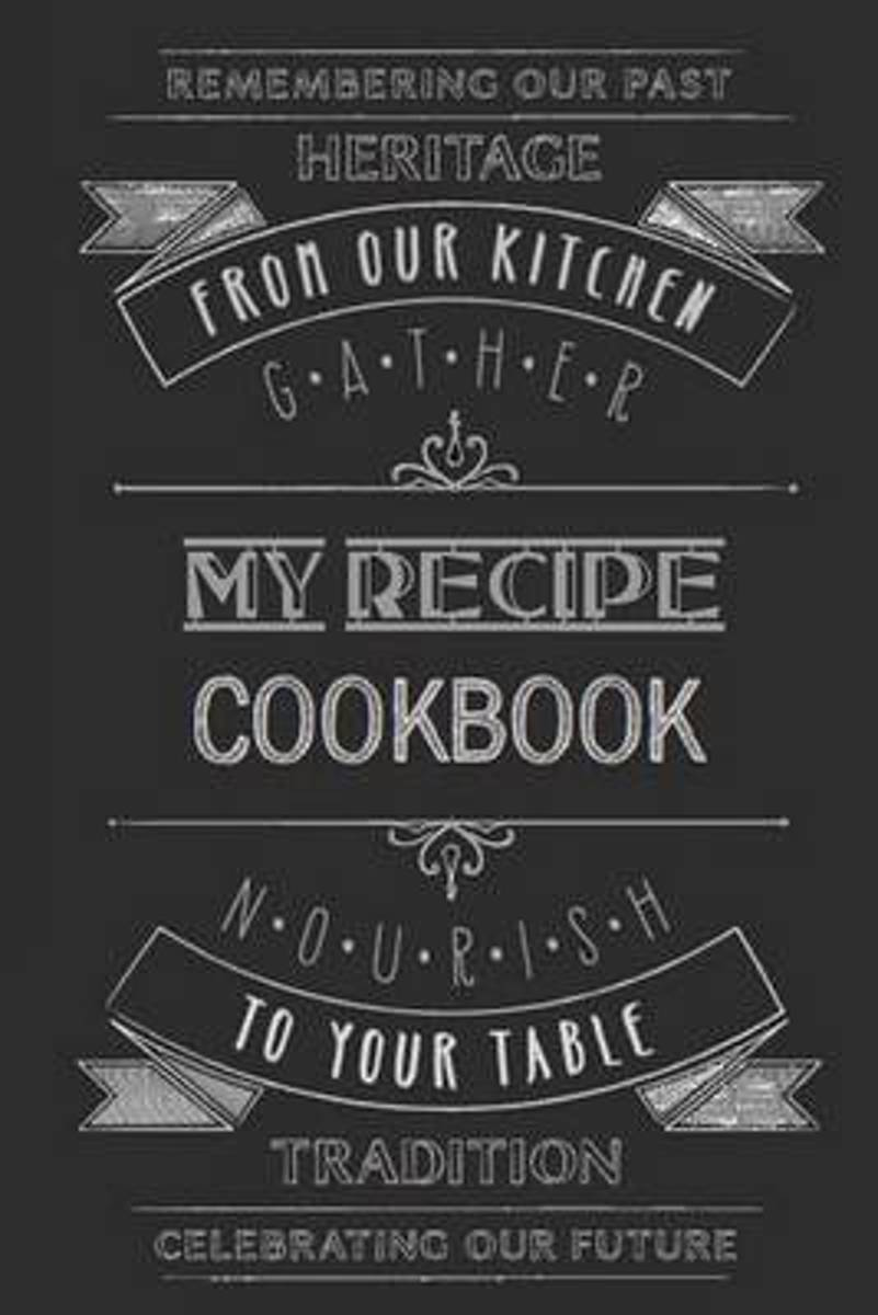 Blank Recipe Cookbook - 6 X 9, 105 Pages