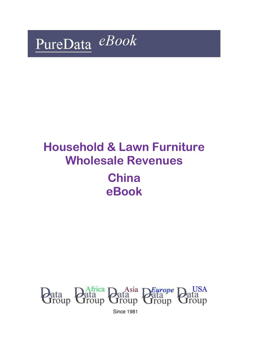 Household & Lawn Furniture Wholesale Revenues in China