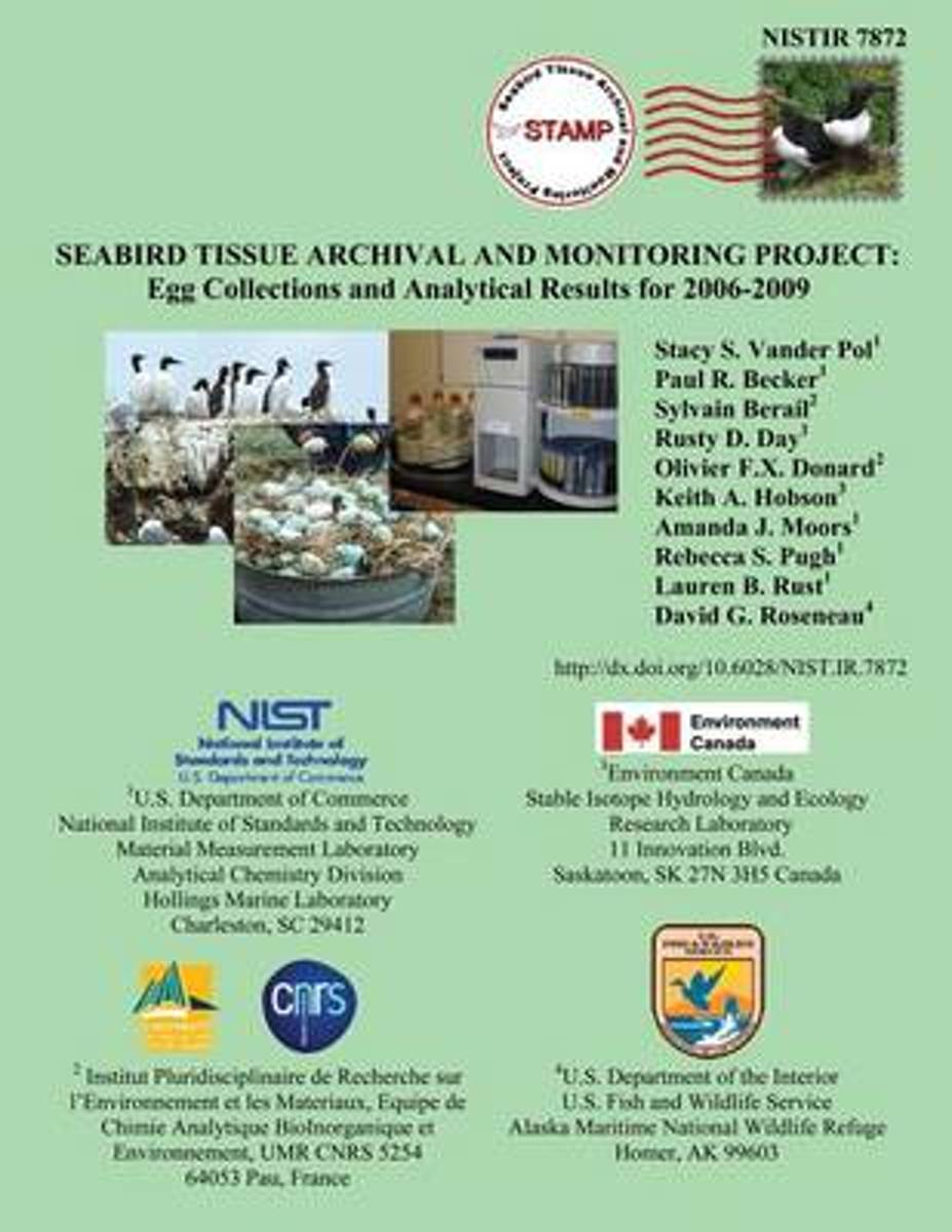 Nistir 7872 Seabird Tissue Archival and Monitoring Project
