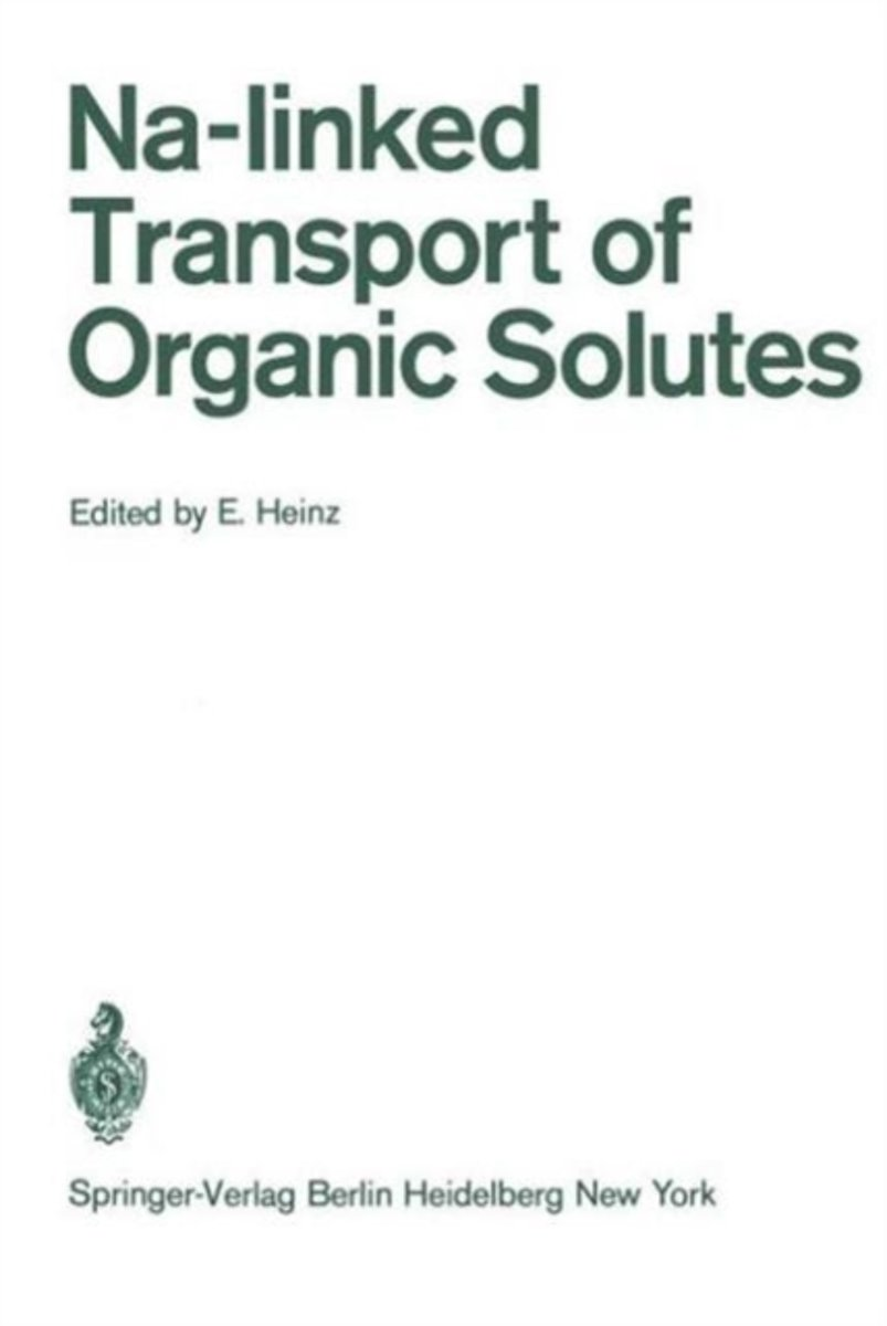 Na-linked Transport of Organic Solutes