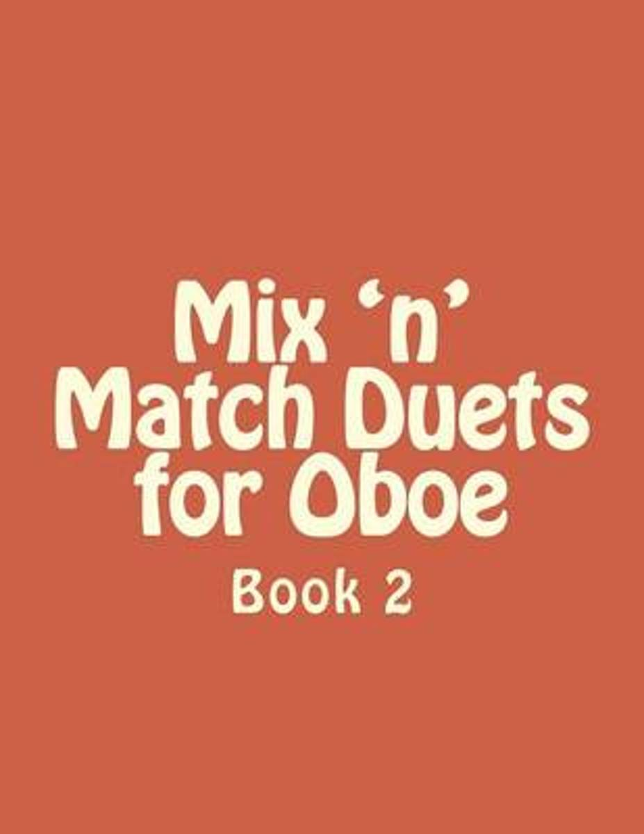 Mix 'n' Match Duets for Oboe