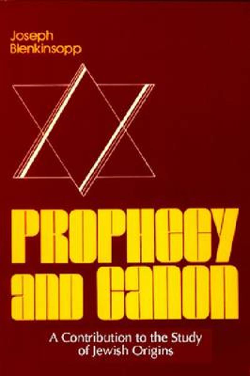 Prophecy and Canon