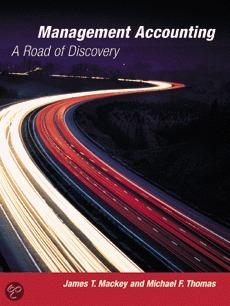 Management Accounting: A Road Of Discovery [With Student Manual]