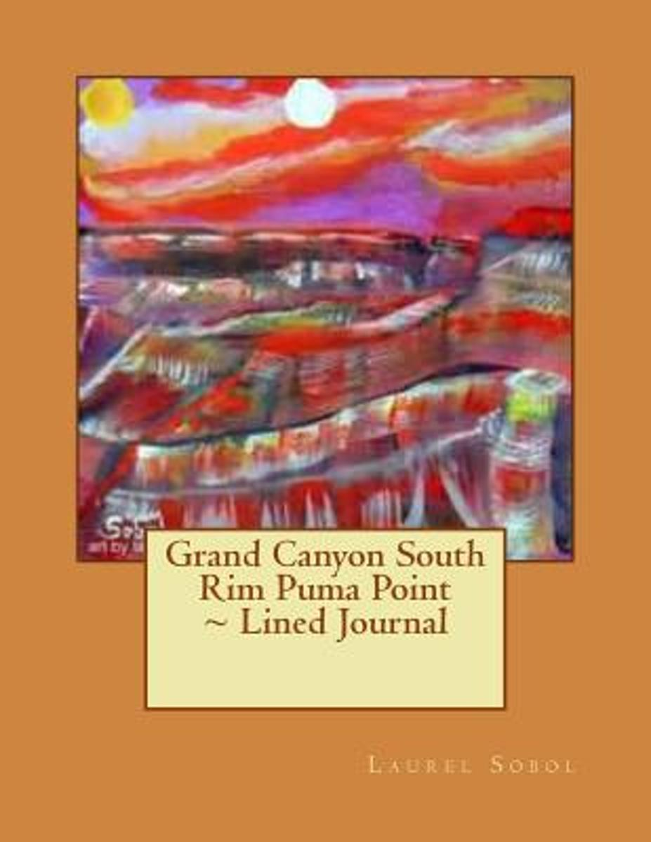 Grand Canyon South Rim Puma Point Lined Journal