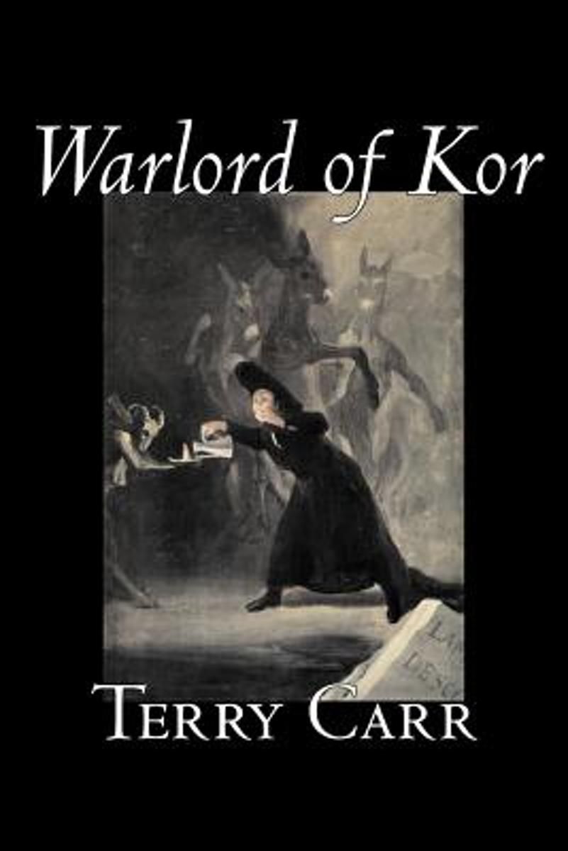 Warlord of Kor by Terry Carr, Science Fiction, Adventure, Space Opera
