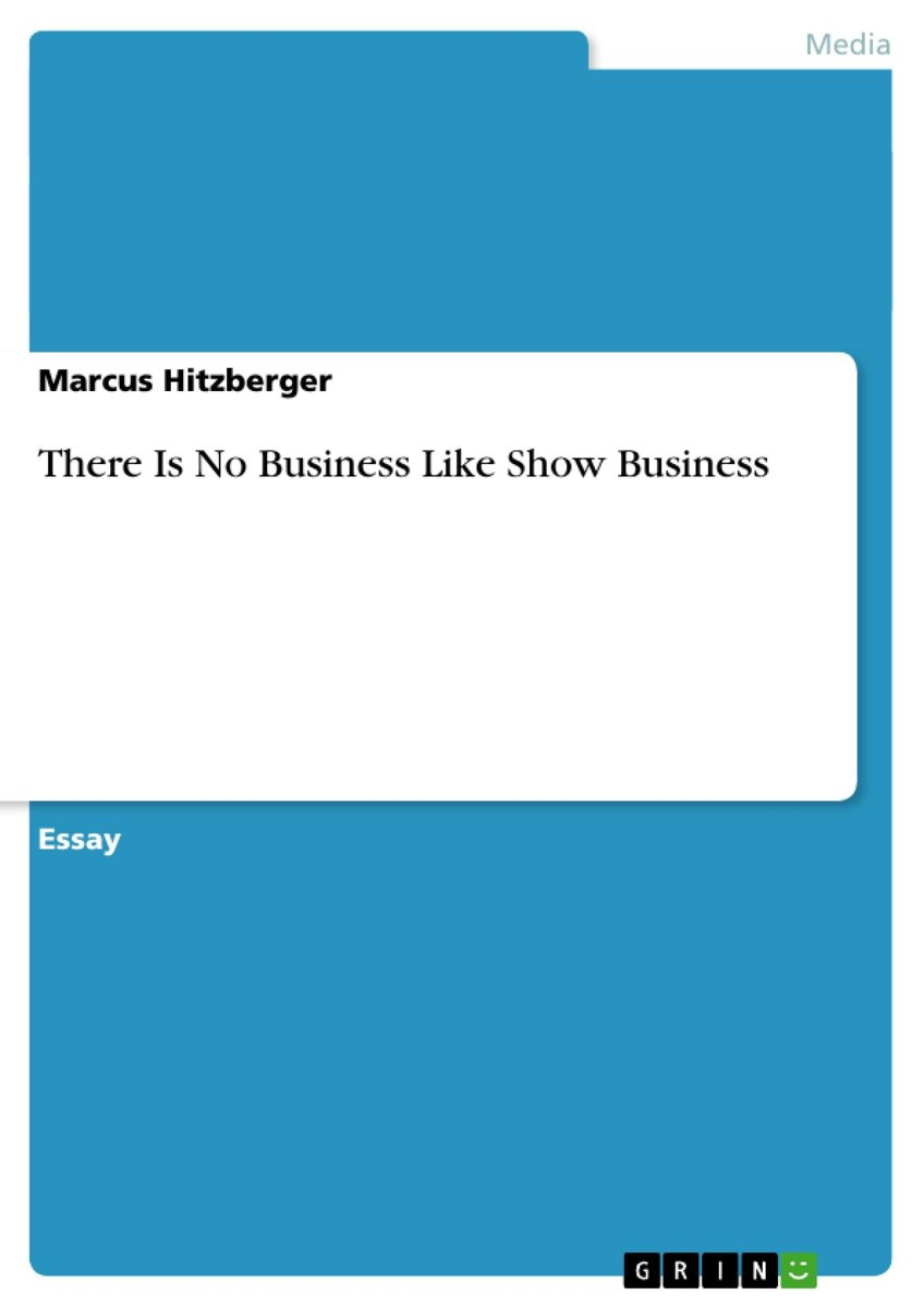 There Is No Business Like Show Business