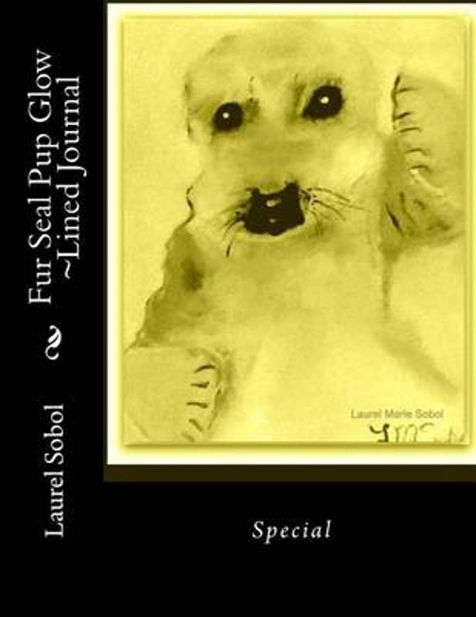Fur Seal Pup Glow Lined Journal