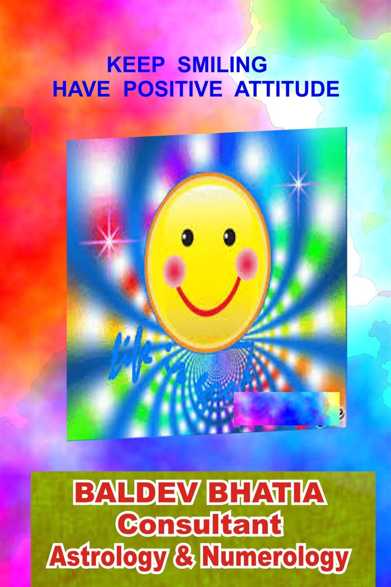 Keep Smiling: Have Positive Attitude