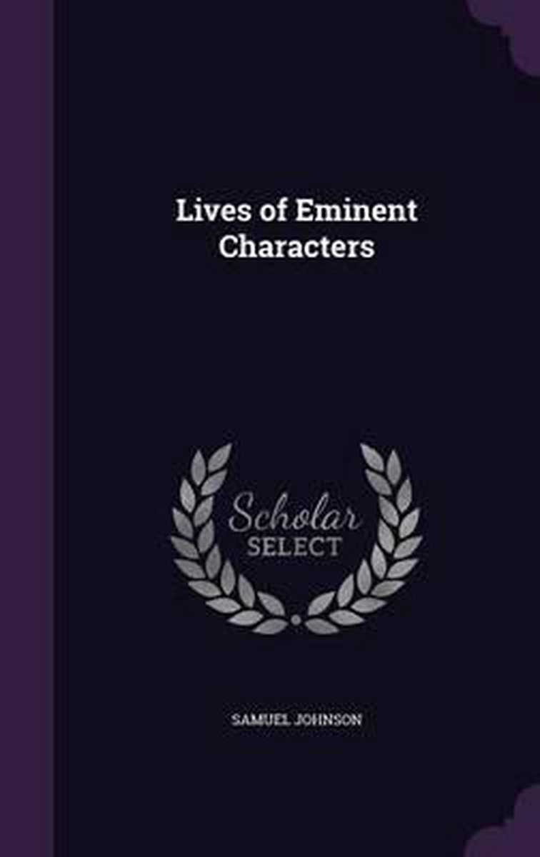 Lives of Eminent Characters