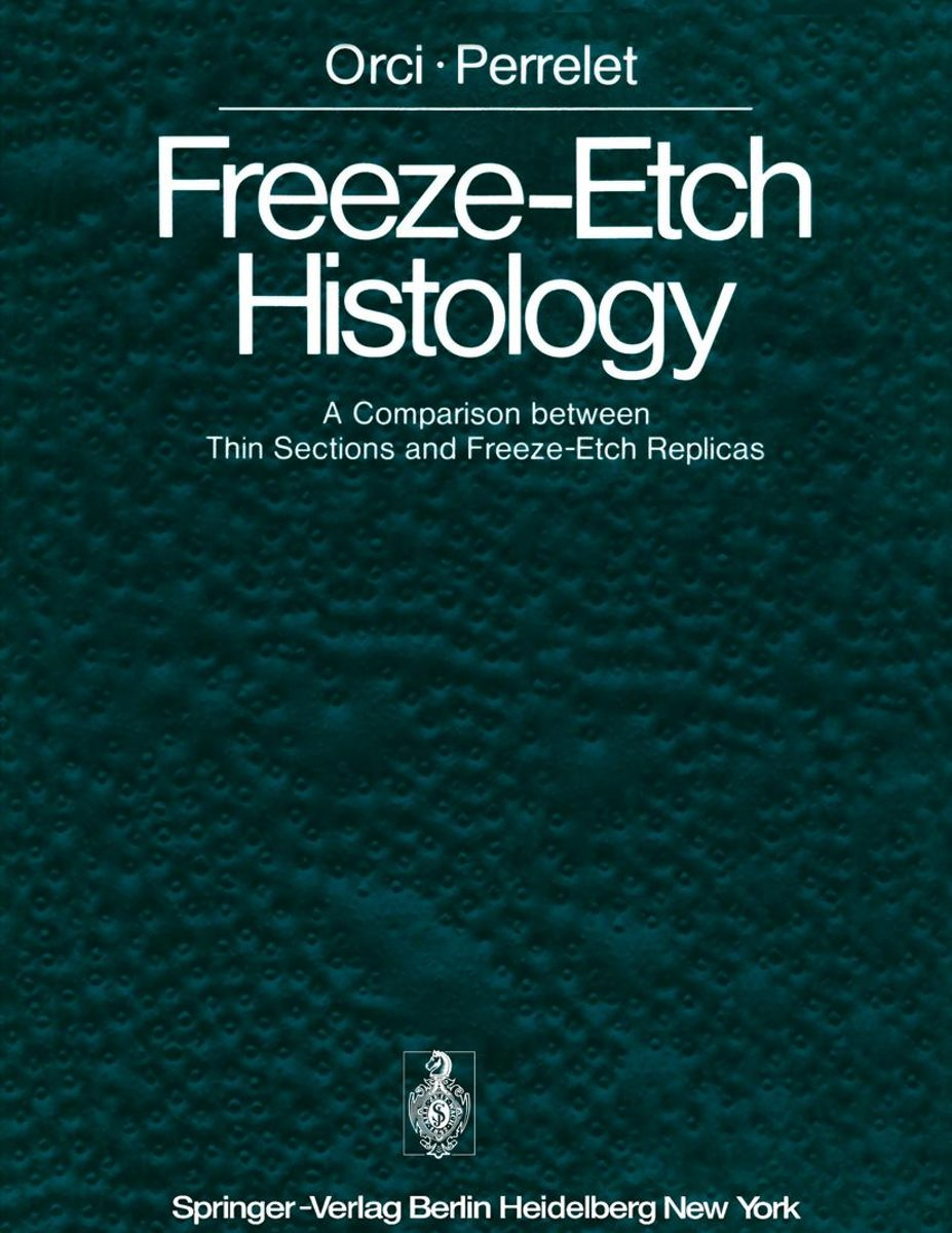 Freeze-Etch Histology