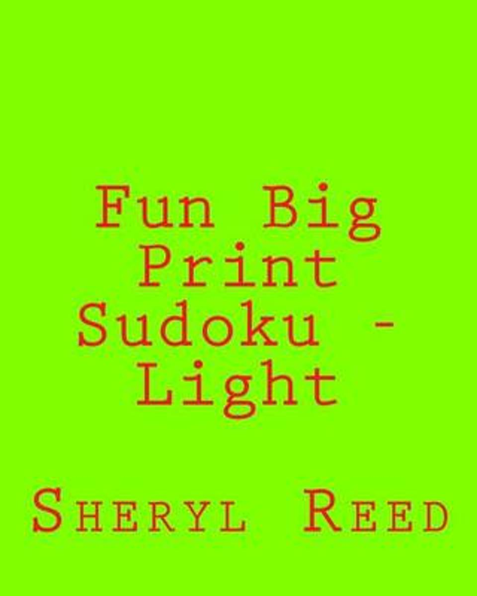 Fun Big Print Sudoku - Light