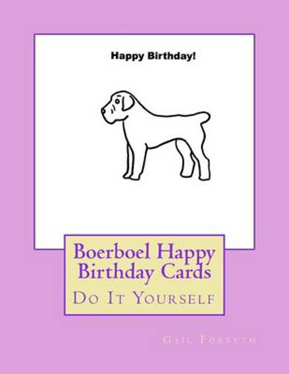Boerboel Happy Birthday Cards