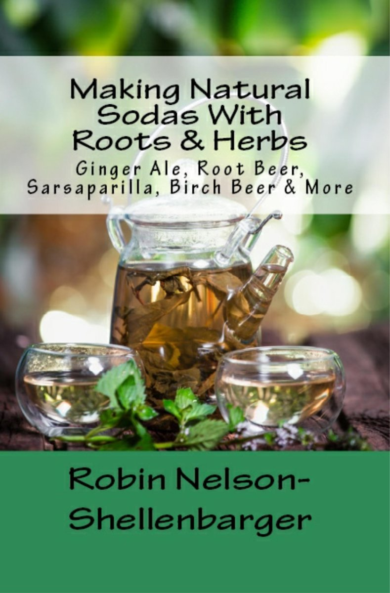 Making Natural Sodas With Roots & Herbs