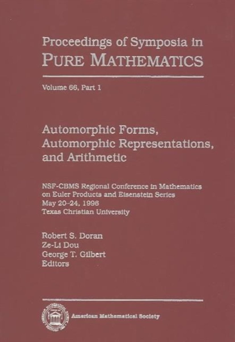 Automorphic Forms, Automorphic Representations and Arithmetic, Part 1