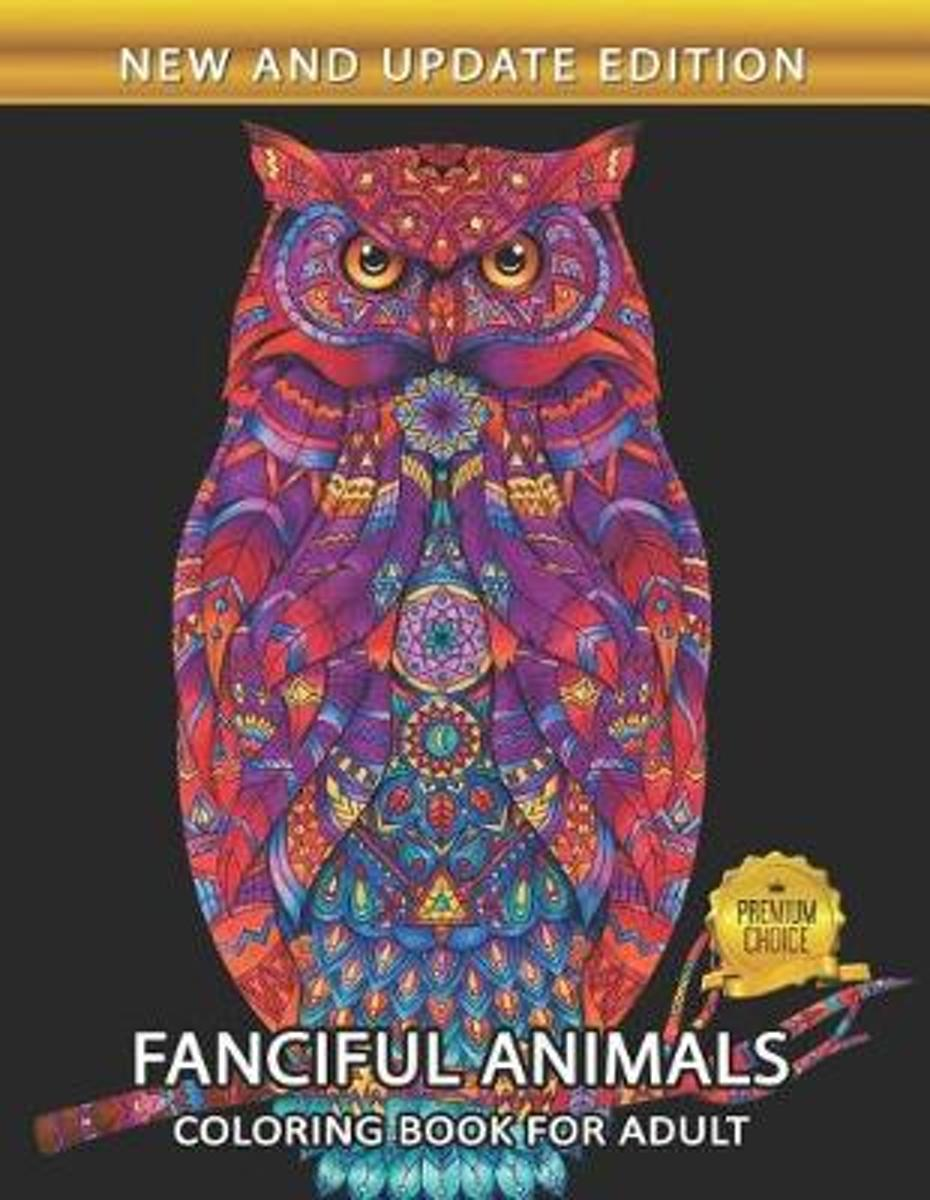Fanciful Animals Coloring Book for Adults