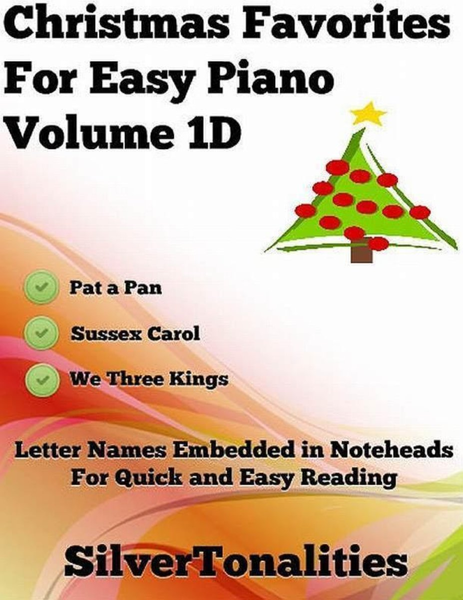 Christmas Favorites for Easy Piano Volume 1 D