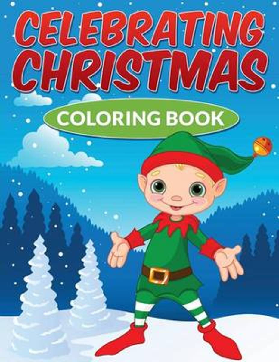 Celebrating Christmas Coloring Book