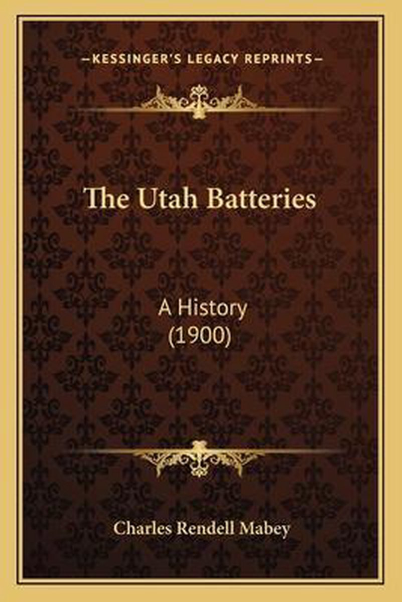 The Utah Batteries