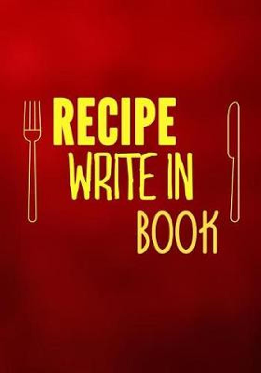 Recipe Write in Book