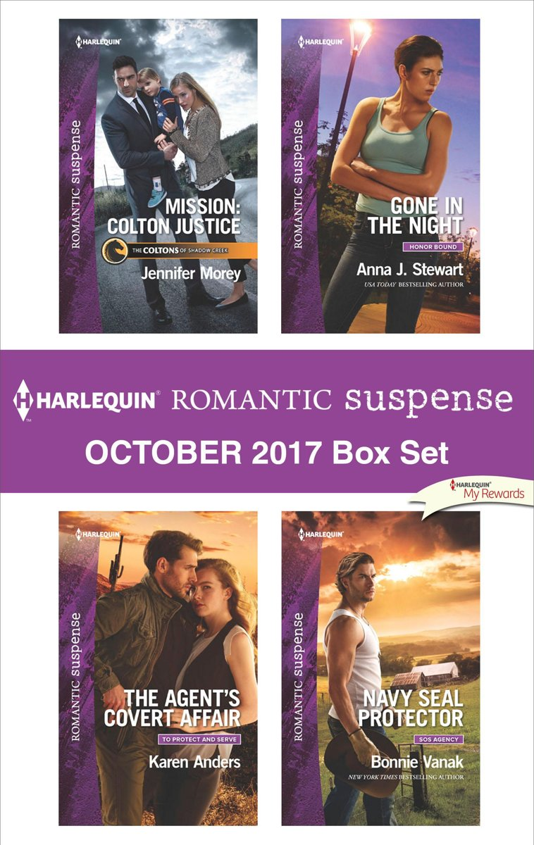 Harlequin Romantic Suspense October 2017 Box Set