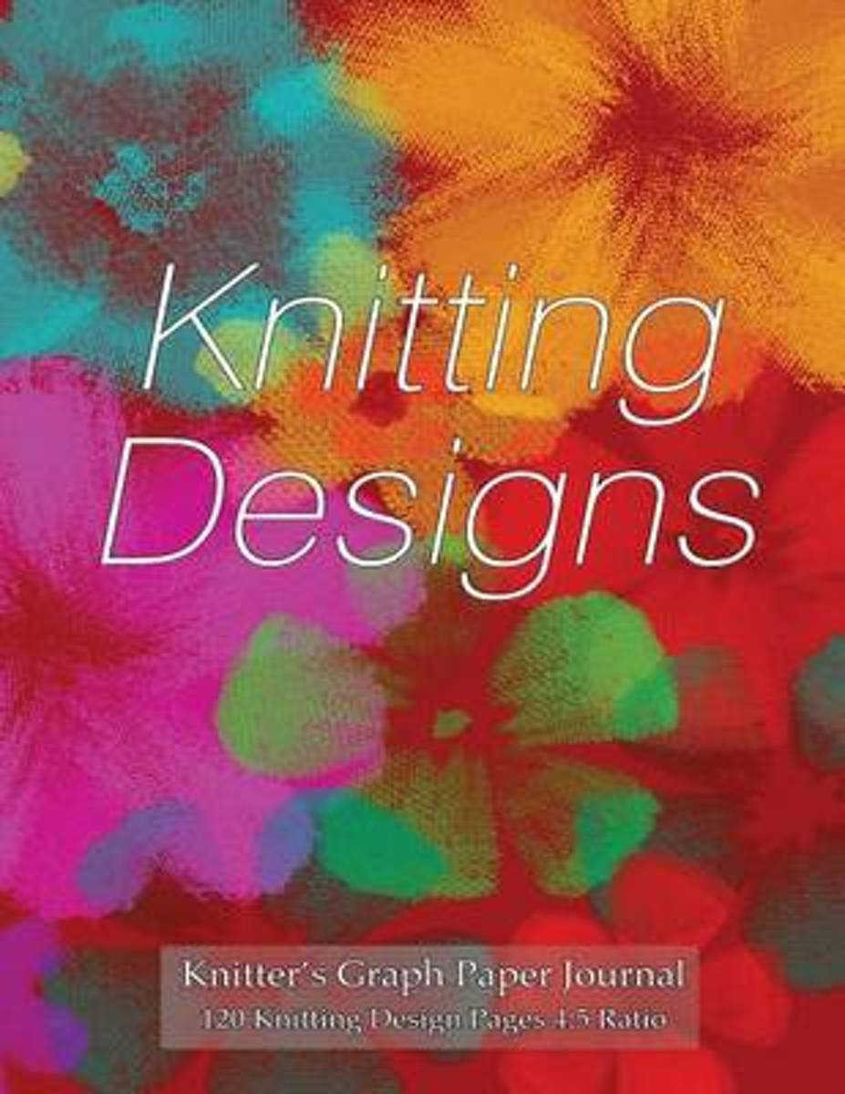 Knitter's Graph Paper Journal 120 Knitting Design Pages 4