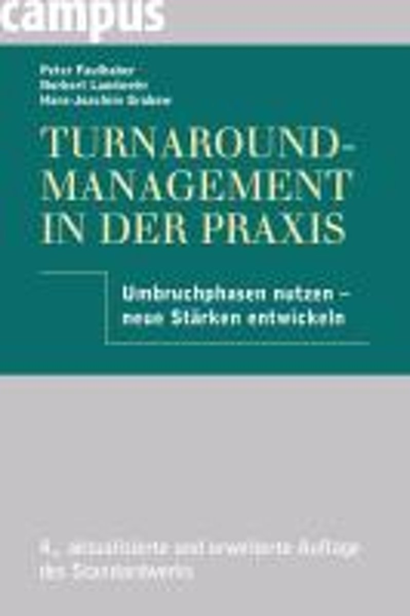 Turnaround-Management in der Praxis