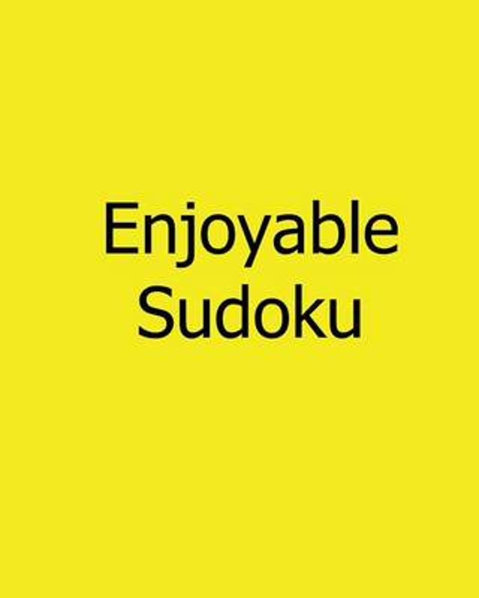 Enjoyable Sudoku