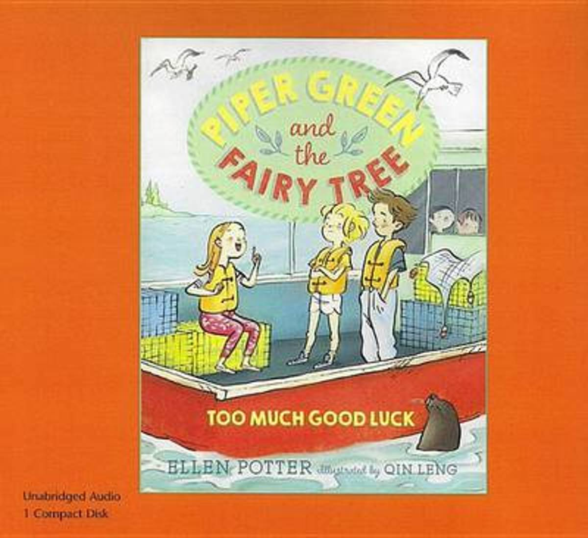 Too Much Good Luck (1 Paperback/1 CD Set)