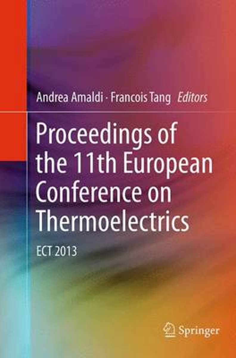 Proceedings of the 11th European Conference on Thermoelectrics