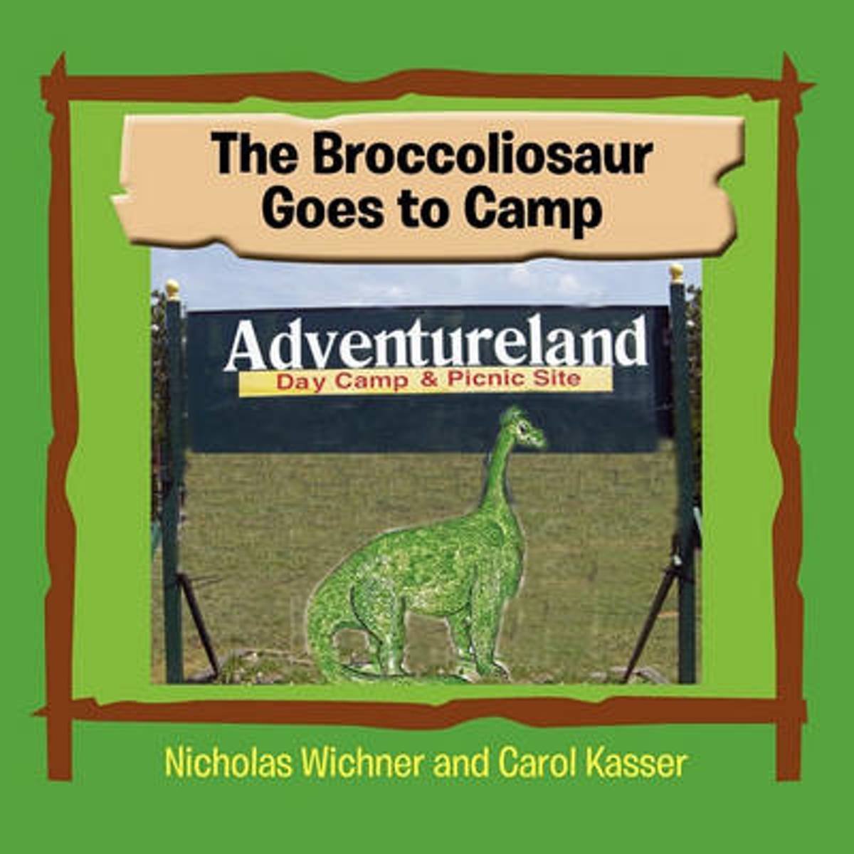 The Broccoliosaur Goes to Camp