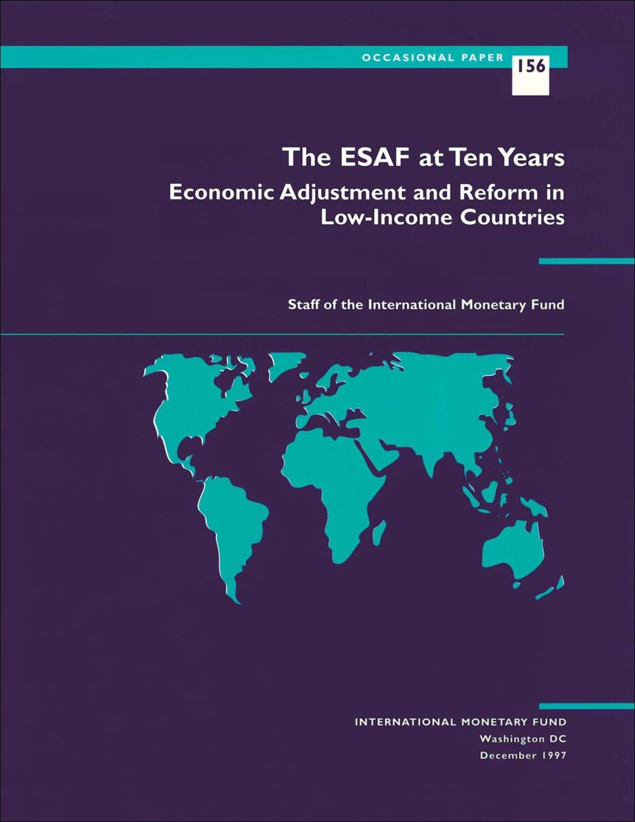 The ESAF at Ten Years: Economic Adjustment and Reform in Low-Income Countries