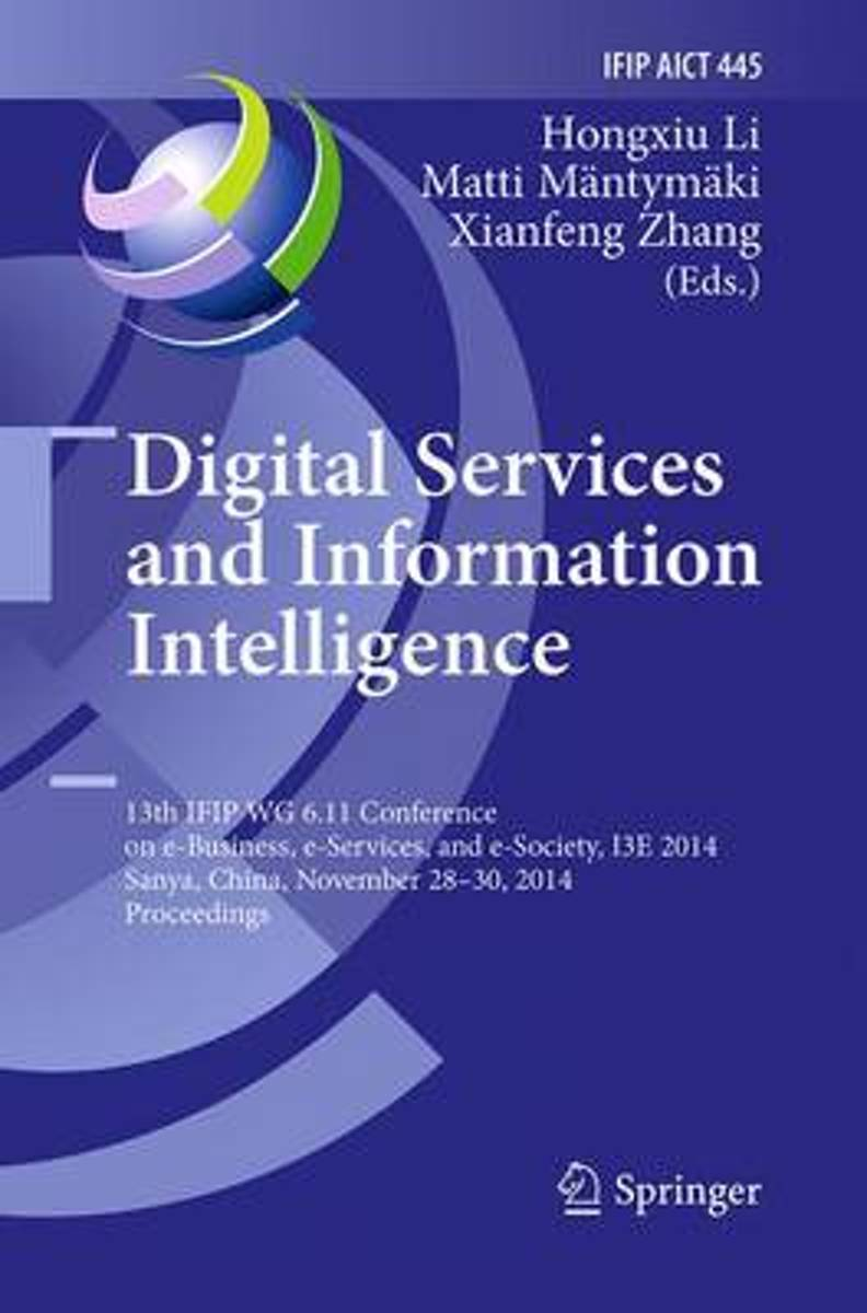 Digital Services and Information Intelligence