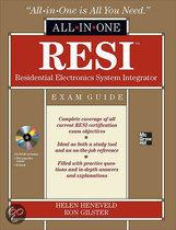RESI Residential Electronics System Integrator All-in-one Exam Guide