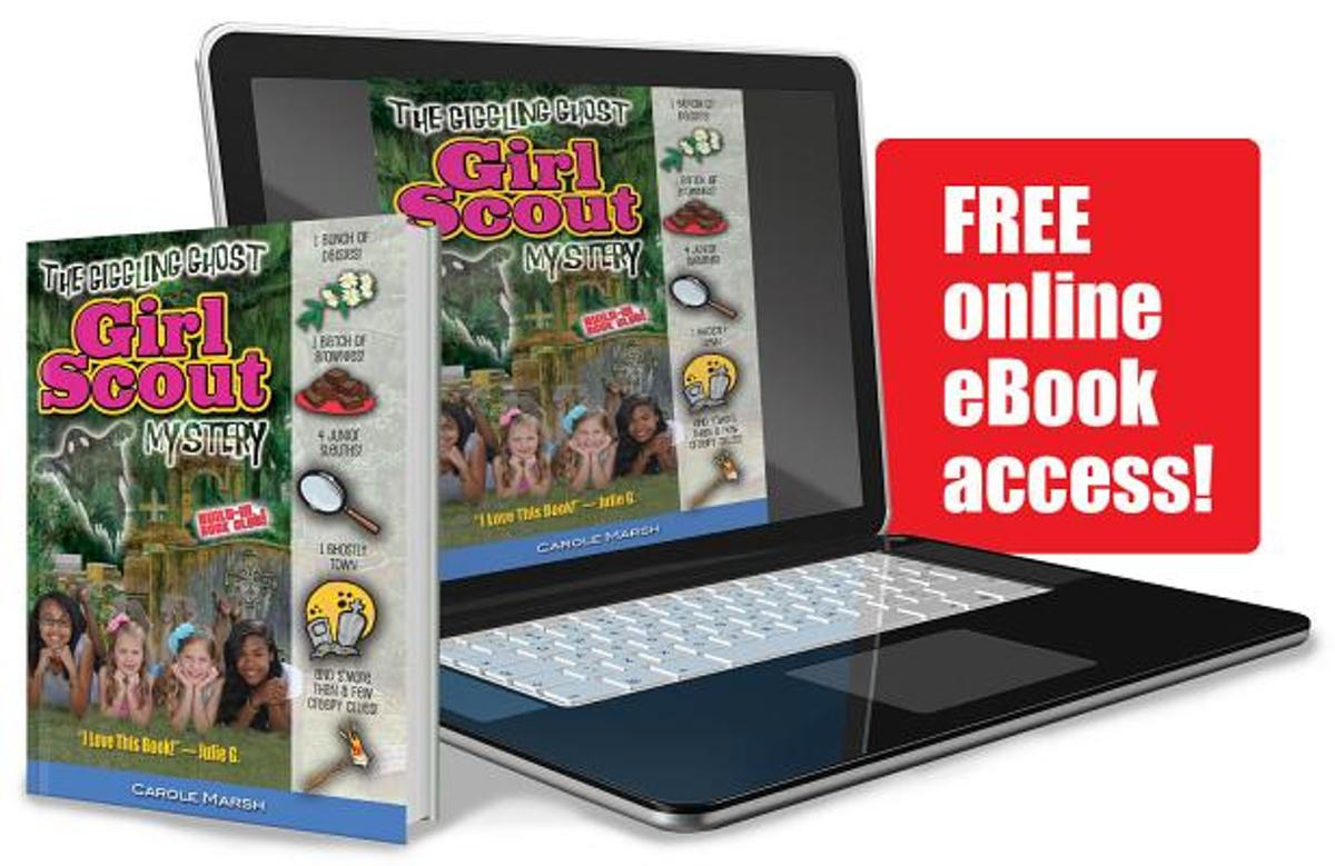 The Giggling Ghost Girl Scout Mystery Plus Free Online eBook Access