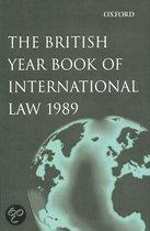 Brit Yearb Intern Law V60 1989 Byil:c C