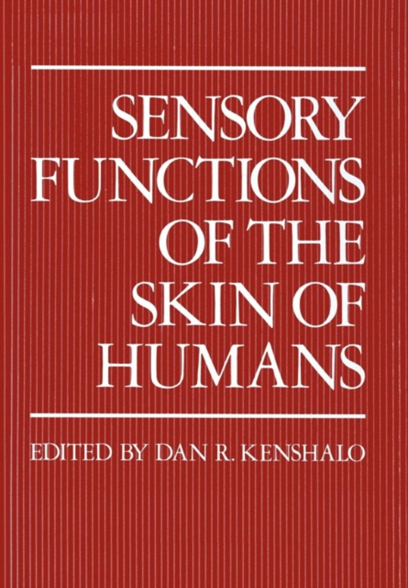 Sensory Functions of the Skin of Humans