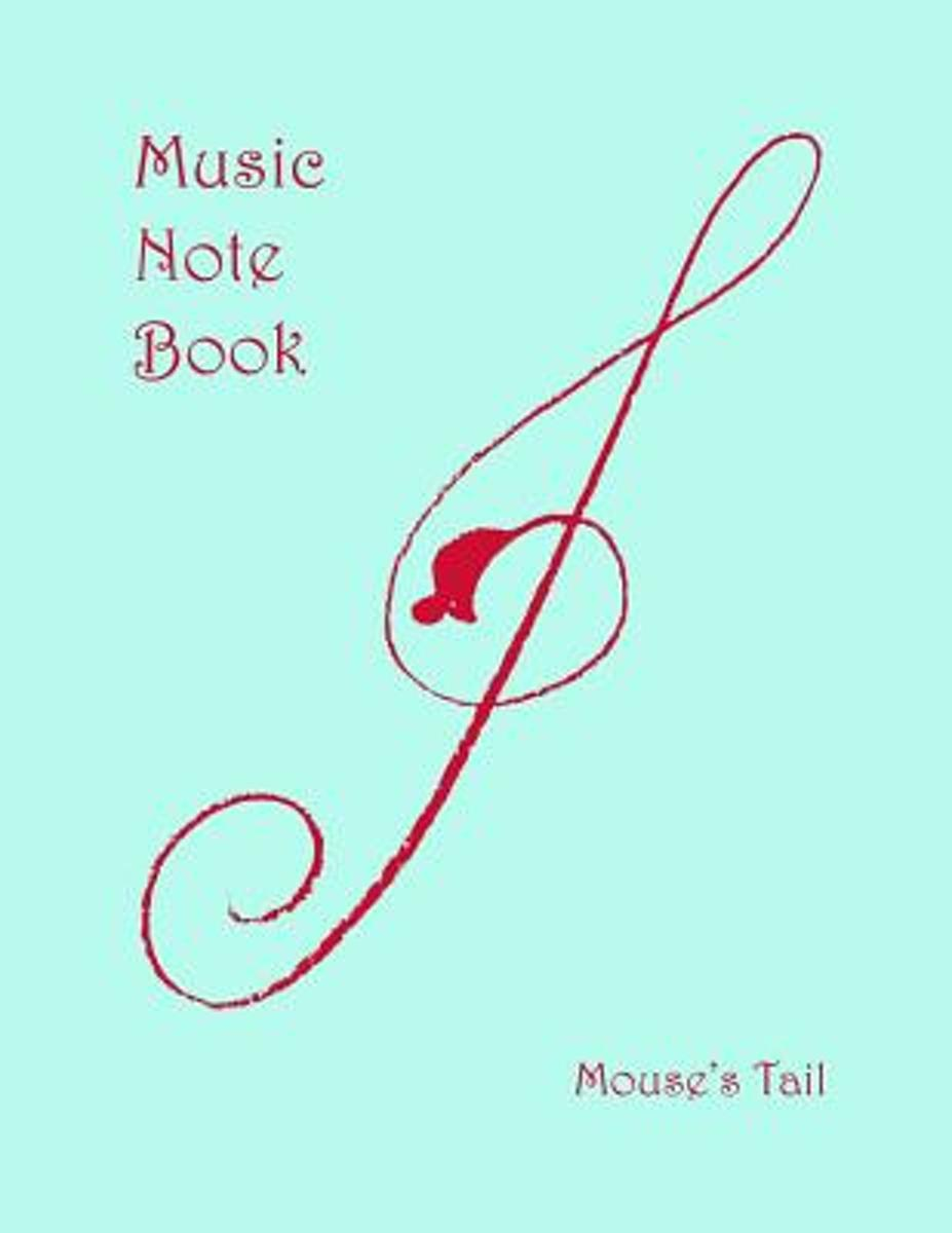 Mouse's Tail Music Notebook