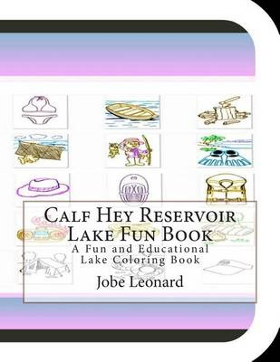 Calf Hey Reservoir Lake Fun Book