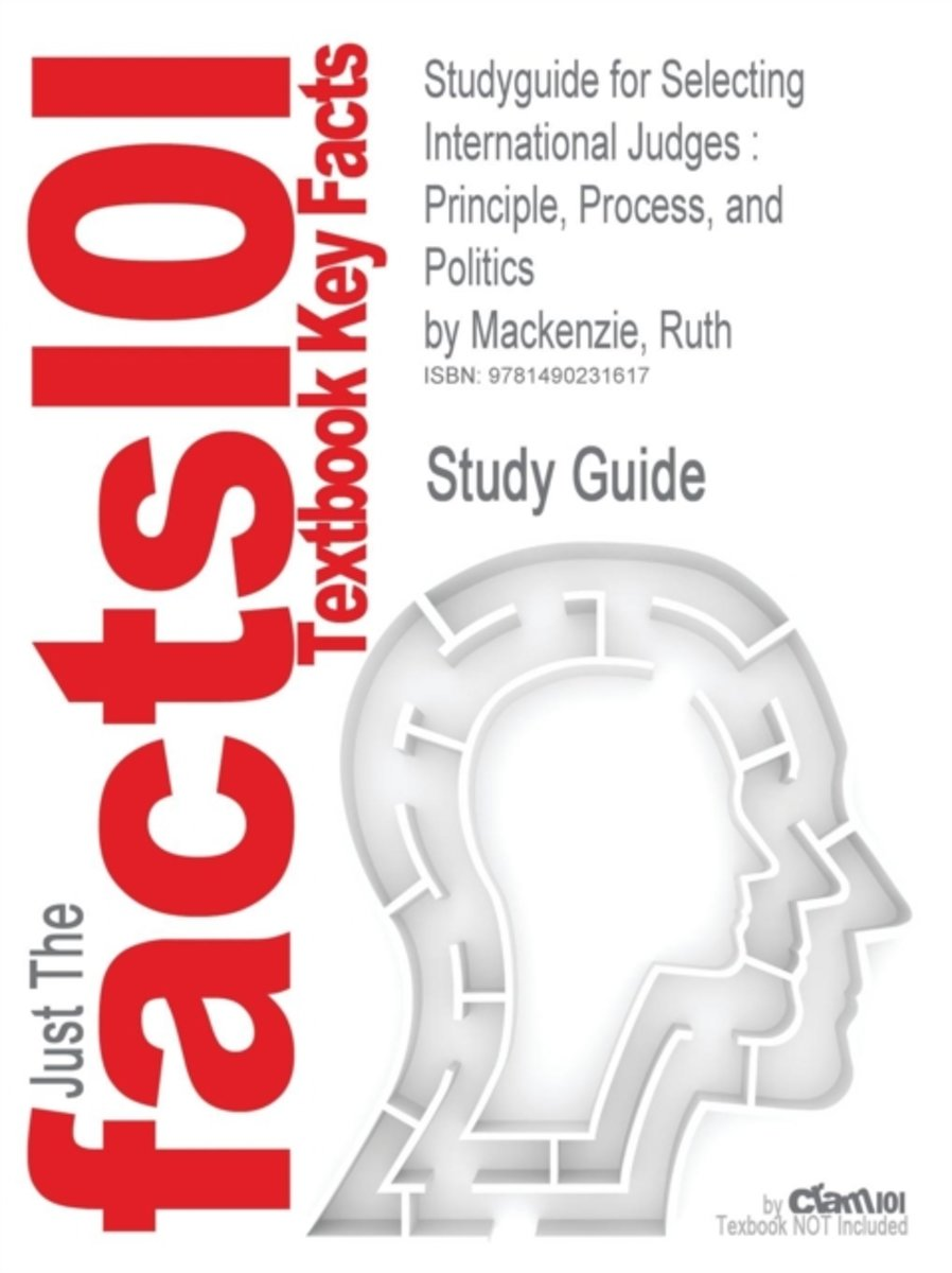 Studyguide for Selecting International Judges