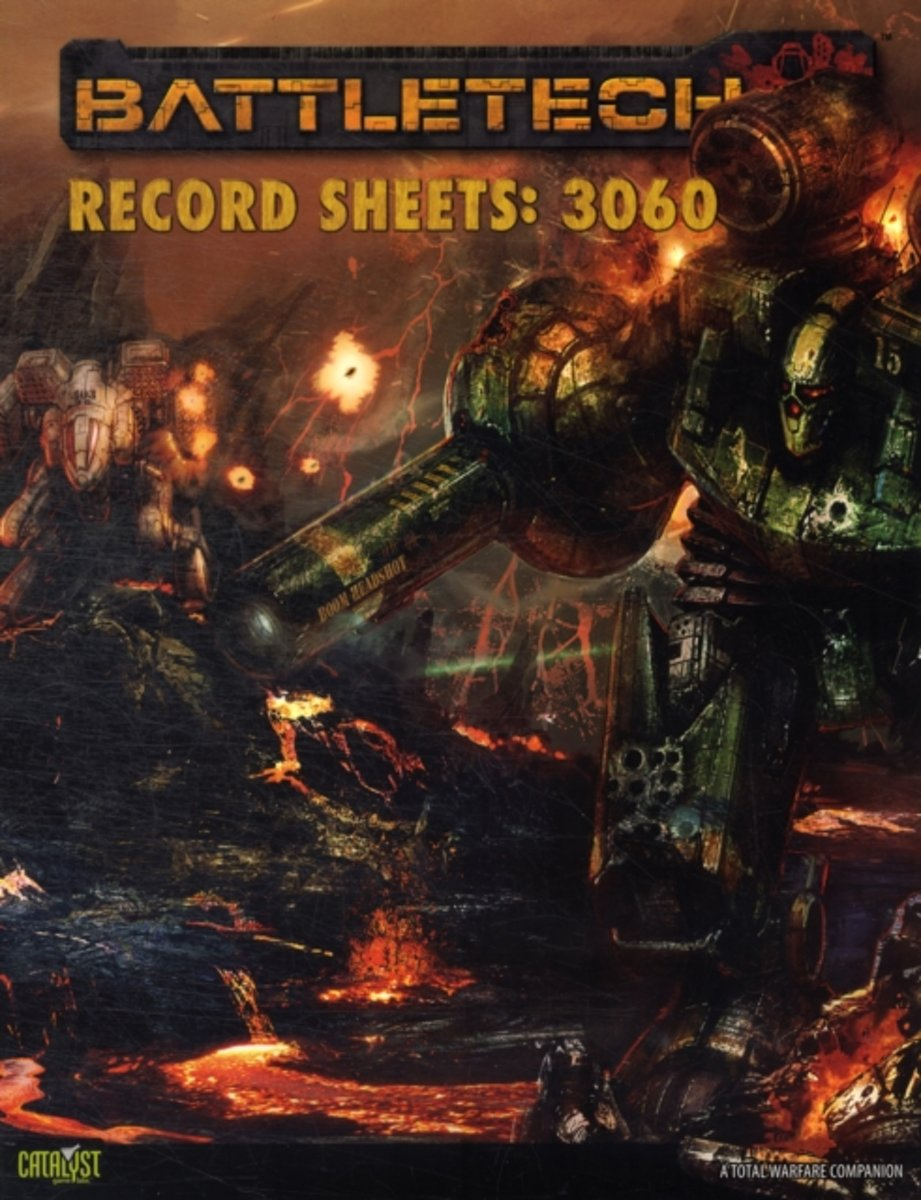 Battletech Record Sheets