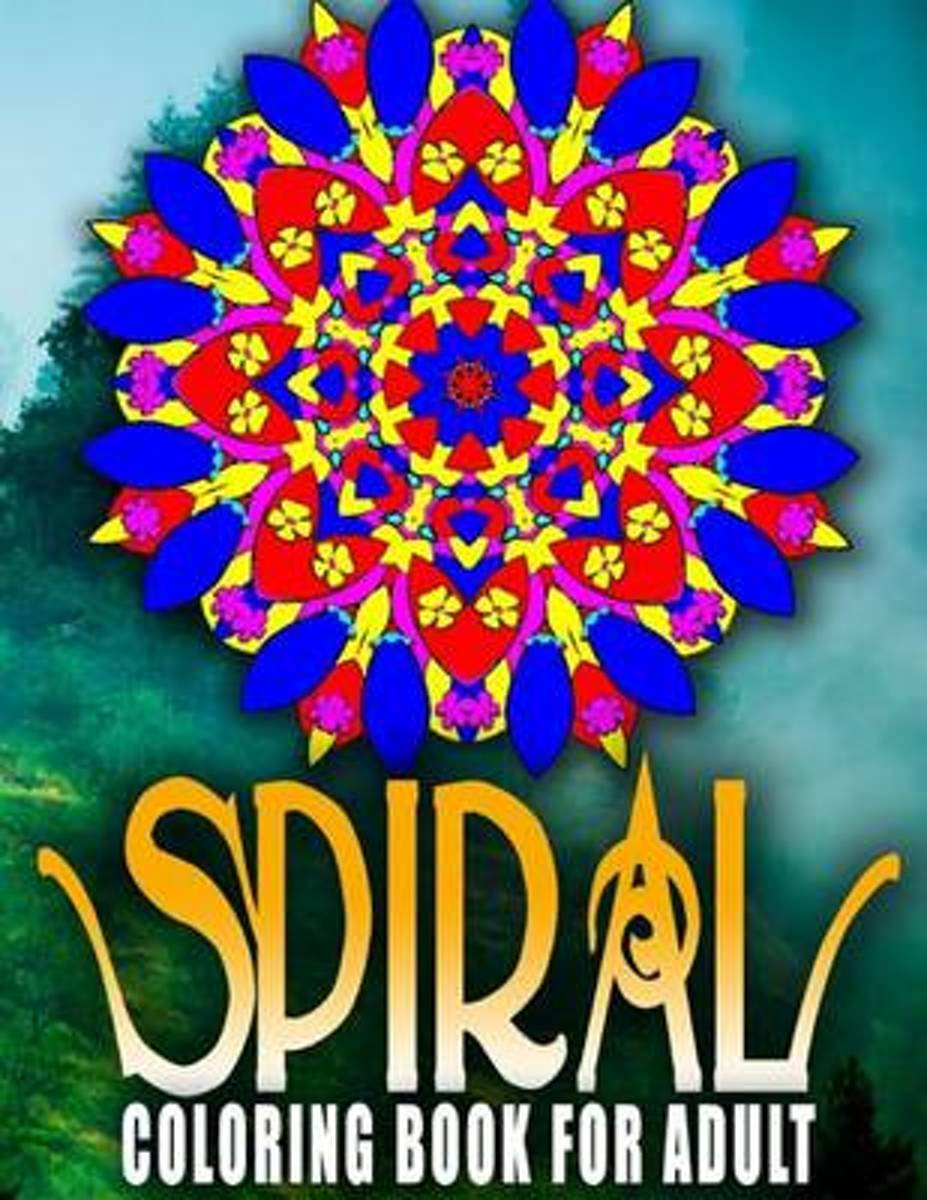 Spiral Coloring Books for Adults, Volume 9